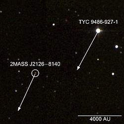 Planeta con la mayor órbita conocida.