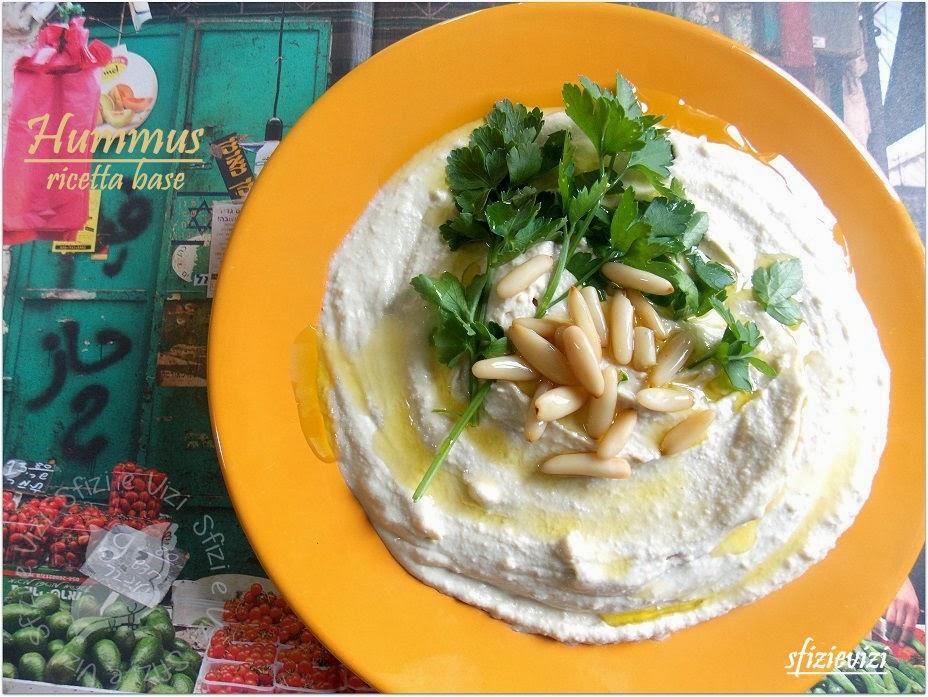 hummus (naturalmente senza latticini)