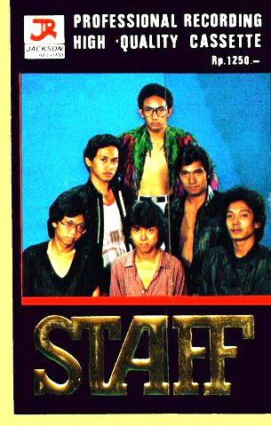 Album STAFF Ikang Fawzi yang Pertama dari SMAN 3 Jakarta, bersama Addie MS, Raidy Noor, Rudy Gagola