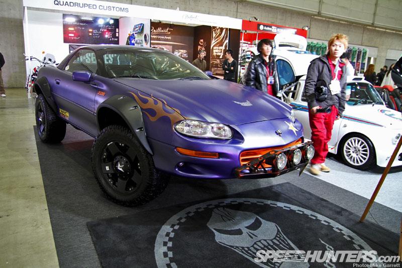 Car show coverage 2013 tokyo auto salon doing donuts for 2013 tokyo auto salon