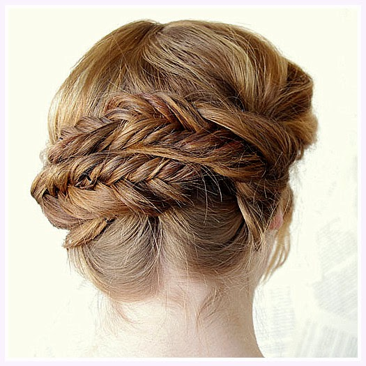 how to put a fishtail in your hair