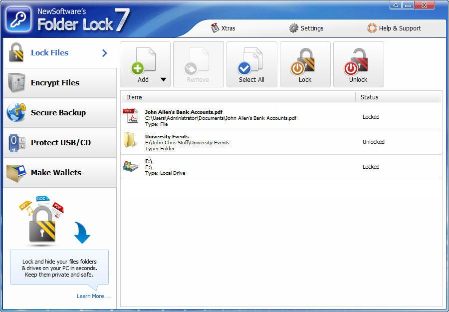 folder lock full version free download lock folder xp free