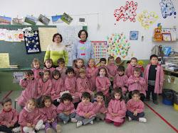 EL GRUPO A DE 1º EDUCACION INFANTIL
