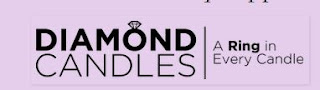 Diamond candle logo