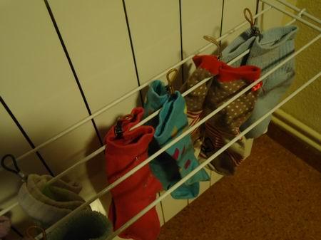 tender los calcetines por parejas