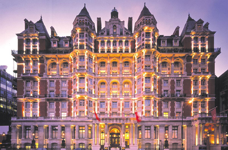 Top hotel deals mandarin oriental 5 star hotel in mostly for Best modern hotels in london