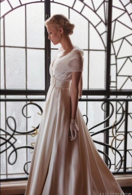robe de Mariée Fanny Liautard, collection Prince de Galles