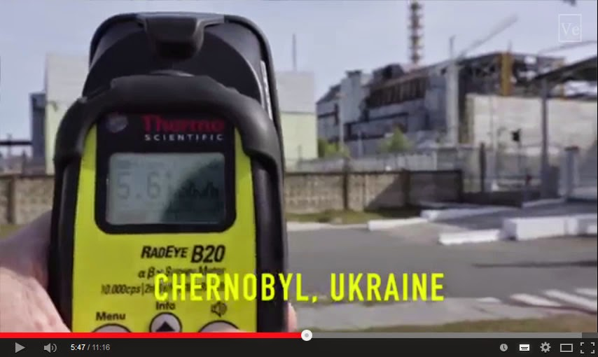 Los lugares más radiactivos de la Tierra