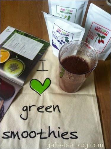 Lebepur- I love green smoothies