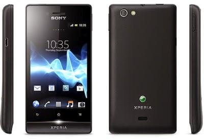 Harga dan Spesifikasi HP Sony Xperia Miro ST23i [UPDATE]