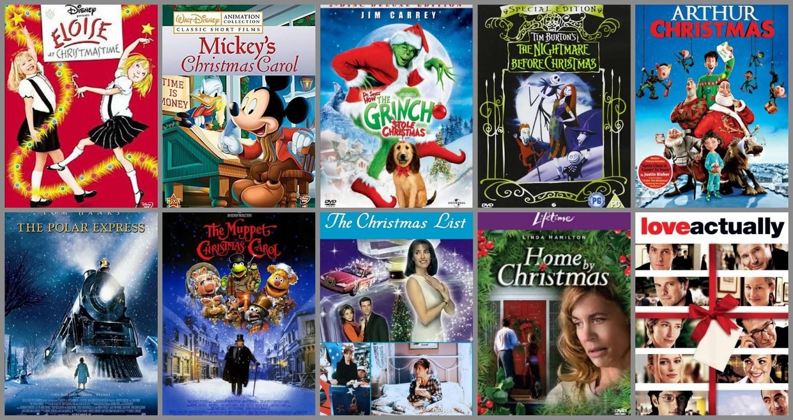 My Top Ten Christmas Films // Holidays With Hannah - Hannah Marie