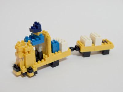 ナノブロックで作ったターレー