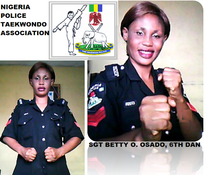 NIGERIA POLICE TAEKWONDO SET TO PRODUCE FIRST FEMALE GRANDMASTER IN 2020