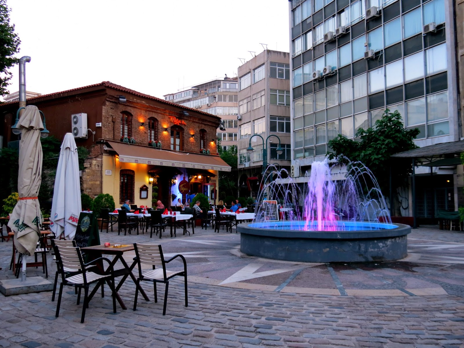 thessaloniki fountain