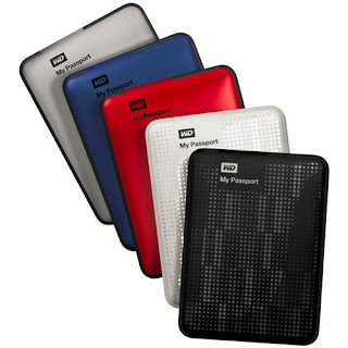 Western Digital My Passport Portable Hard Drive 2TB terbaru