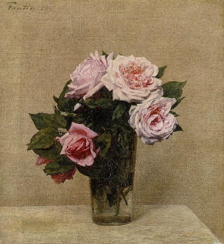 paintings of spring florile lui henri fantin latour 14 ianuarie 1836 25 august 1904 pictor. Black Bedroom Furniture Sets. Home Design Ideas