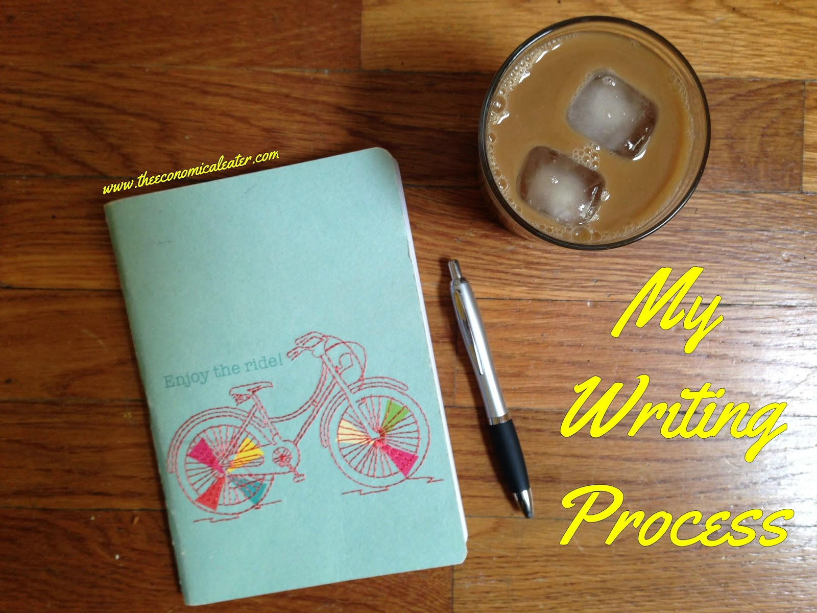 My Writing Process - Blog Tour | The Economical Eater