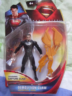 DC Universe Infinite Heroes reboot Superman Man of Steel movie General Zod Capture claw 3 3/4 Clark Kent