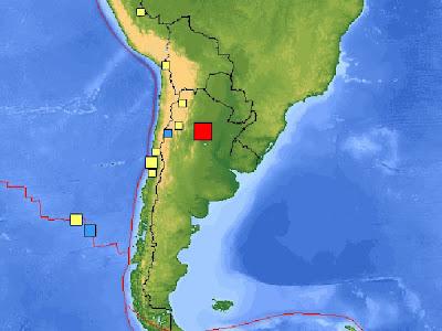 sismo 6,8 grados Argentina 2 de septiembre 2011