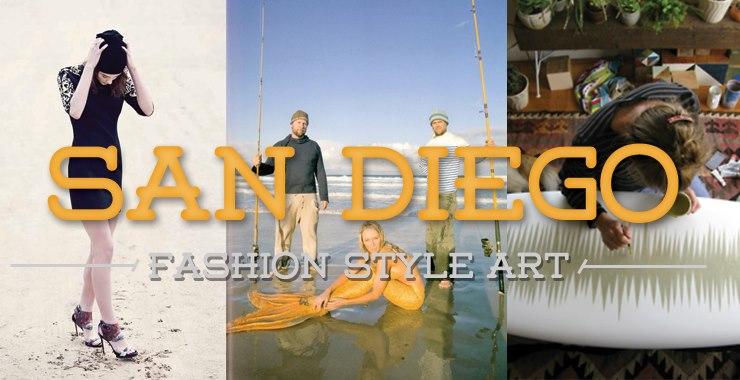 San Diego Fashion Style Art