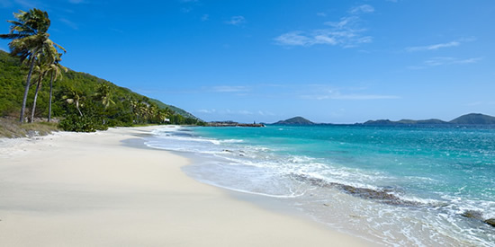 Relax at this beachfront property development in the Grenadines