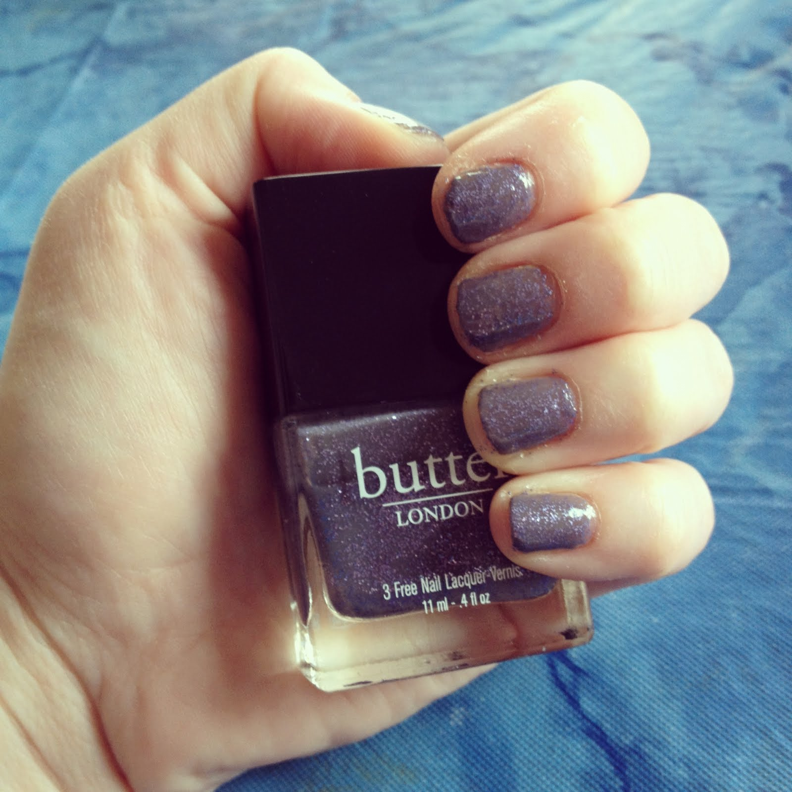 The Beauty of Life: Mani of the Week: butter LONDON No More Waity