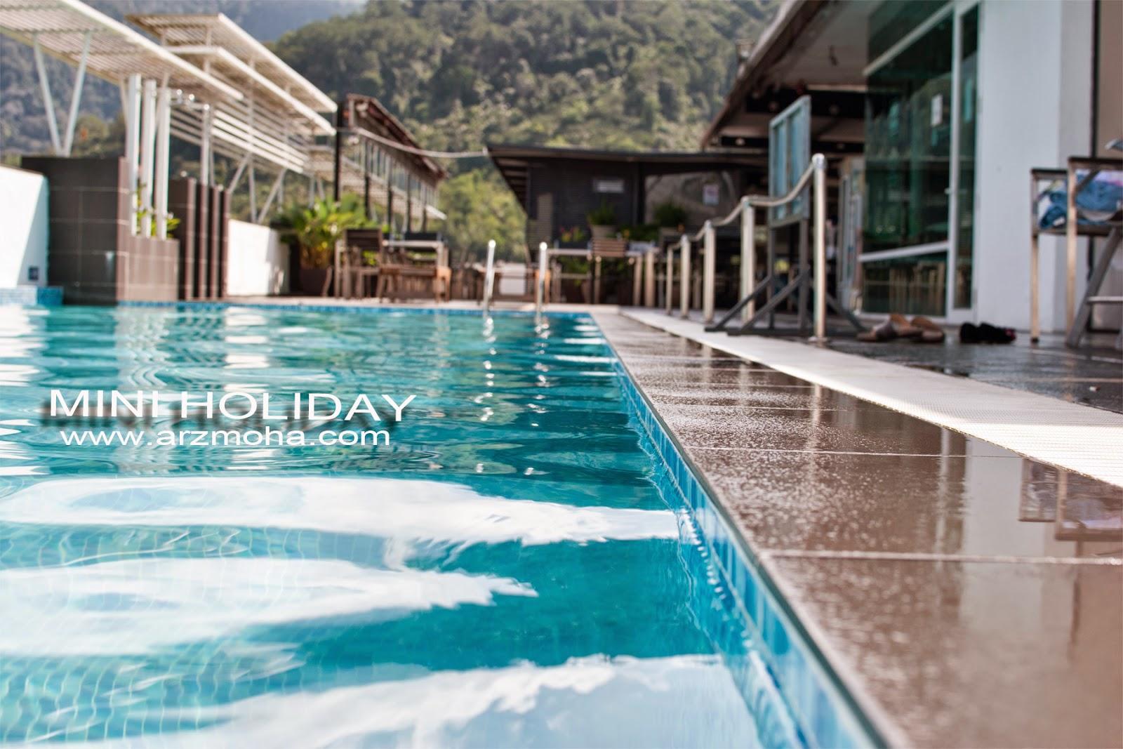 Mini, Holiday, Flemington, hotel, swimming pool, gambar cantik, arzmoha, jurugambar perkahwinan, landscape, visit malaysia, visit perak