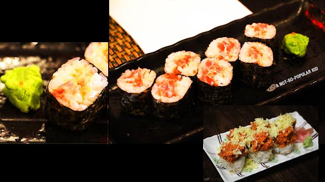 The Spicy Tuna Maki of Kamameshi House