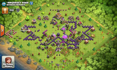 hantu Game Clash of Clans