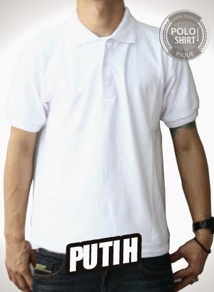 Polo Shirt Polos Putih