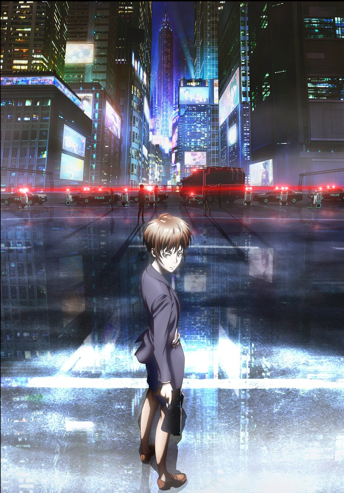 Anime TV Season 2 Dan Movie Psycho-Pass Diumumkan Tayang Oktober dan Musim Dingin 2014