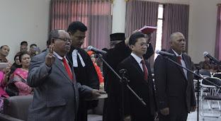St Dr Bonarsius Saragih Dilantik Jadi Pembantu Ketua I Sekolah Tinggi Hukum Bandung