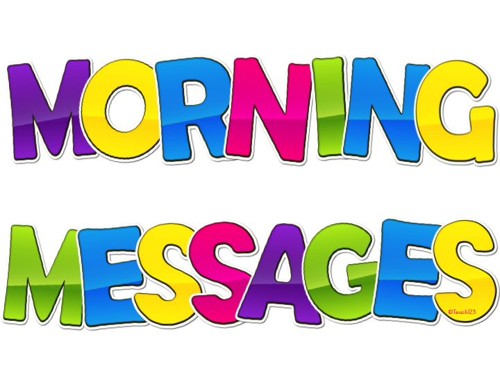K-3 Morning Messages & Tips