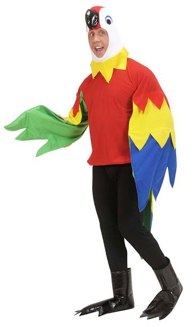 Papegøje udklædning