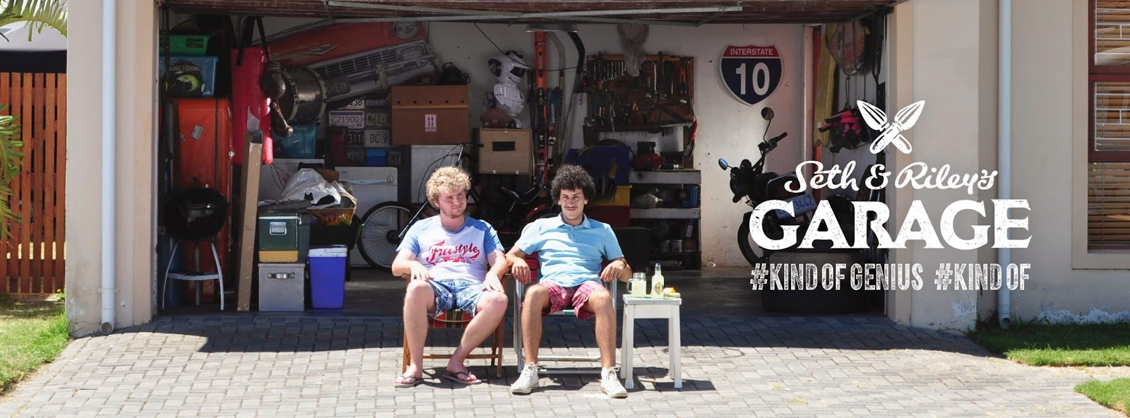 Seth & Riley's Garage: Kind of genius. Kind of.