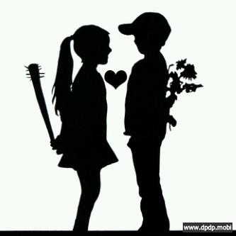 Gambar Tampilan di Bbm Blackberry_fall in love