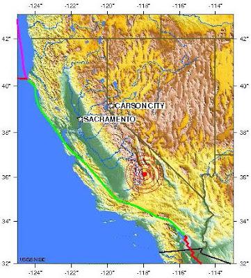 California earthquake 2012 march 31