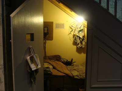 harry potter cupboard under the stairs