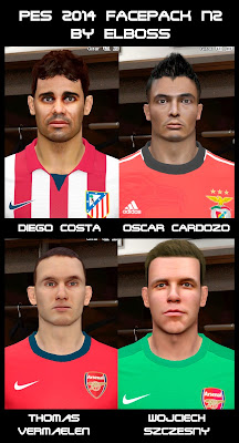 PES 2014 Facepack N2 by ElBoss