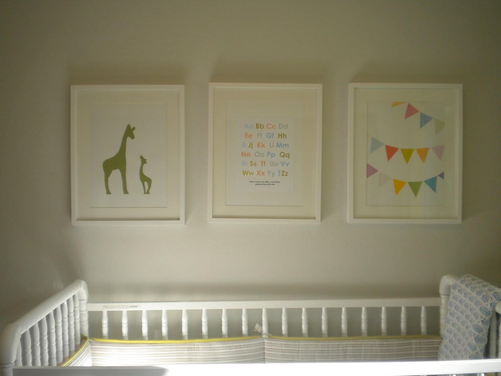 Nursery Artwork Chic Little House Project
