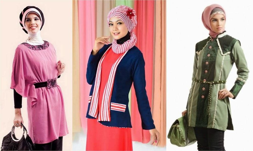 Contoh Model Baju Muslim Terbaru fe5c04fa81