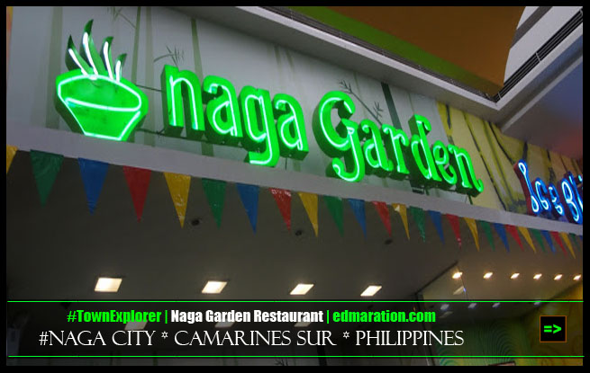 Naga Garden Resto at SM City Naga