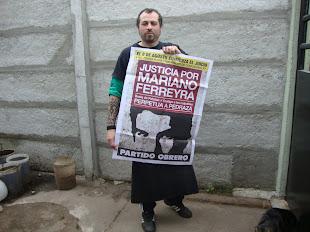 MACHI VILLANUEVA, DEL RESTAURANTE EL ANDÉN, TAMBIÉN QUIERE JUSTICIA POR MARIANO