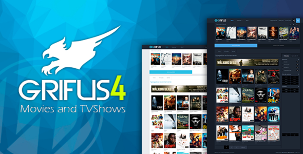 Grifus v4.0 – WordPress Theme Movie Mundothemes