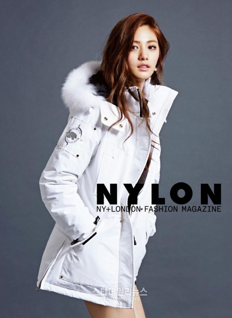 Nylon releases BTS of Nana's photoshoot