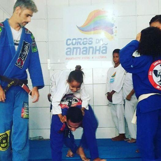Jiu jitsu com Mestre Cancão