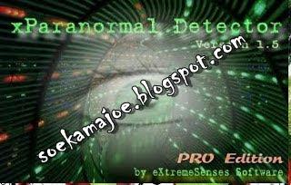 Software xparanormal detector pendeteksi hantu 2013