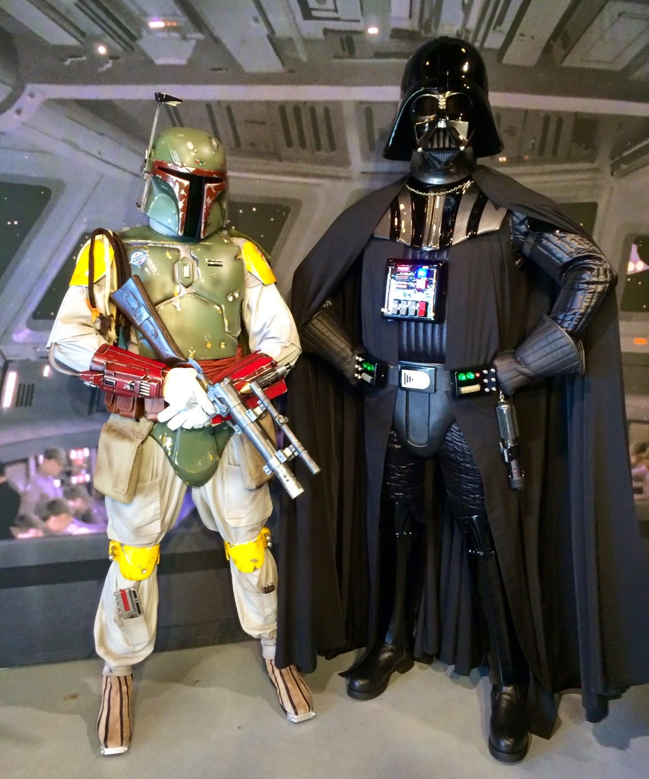 Darth Vader Boba Fett Star Wars Galactic Dine In
