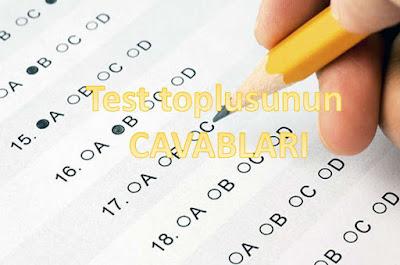 TEST TOPLUSUNUN CAVABLARI