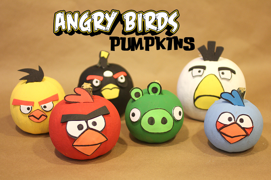 Bomb Angry Bird Pumpkin Angry Birds Pumpkin Painting